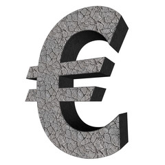 3d sign collection - euro