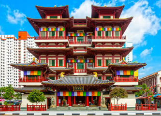 Keuken foto achterwand Singapore Buddhist temple in Singapore