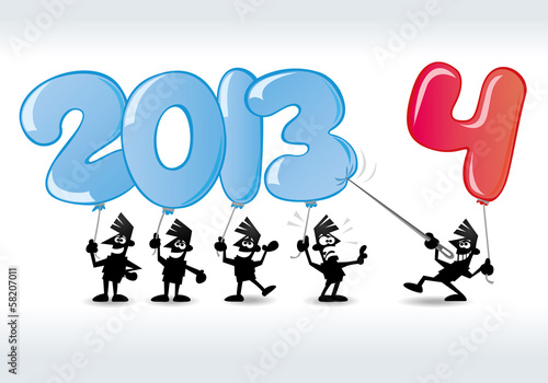 neujahrskarten 2014