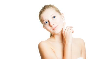 Obraz Healty beautiful face - fototapety do salonu