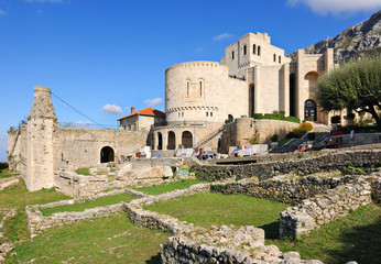 National Skanderbeg Museum within the old castle in Kruja