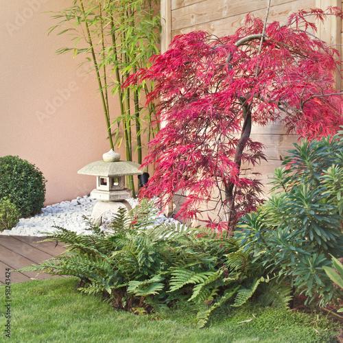 Jardin japonais en automne photo libre de droits sur la banque d 39 images image - Petit jardin japonais exterieur lille ...
