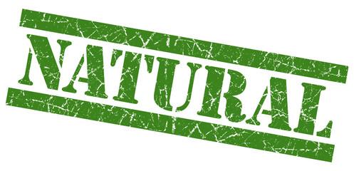 Natural grunge green rubber stamp
