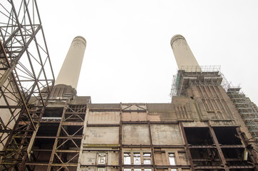Interior, Battersea Power Station