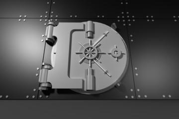 Digitally generated metallic safe