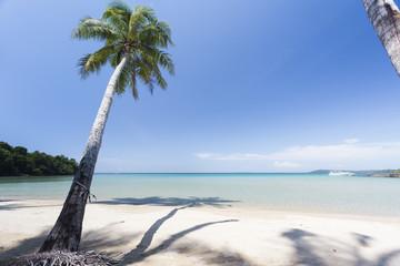 Red sand beach in Kood island of Ao Thai
