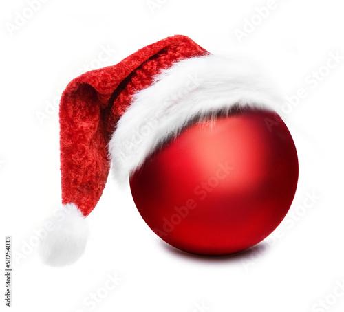 weihnachtskugel mit nikolausm tze stockfotos und lizenzfreie bilder auf bild. Black Bedroom Furniture Sets. Home Design Ideas