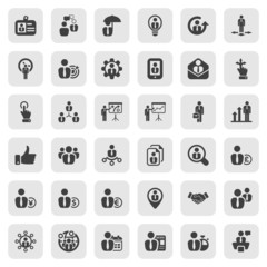iconset business people