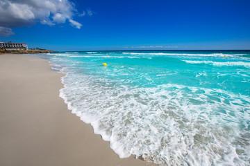 Menorca Platja Sant Tomas in Es Mitjorn Gran at Balearics