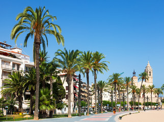 View of Sitges. Spain