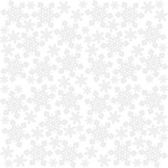 Fototapeta jasne koronkowe płatki śniegu zimowy deseń na białym tle