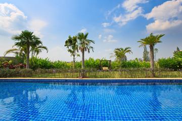 Romantic Pool Villa Resort Relaxation