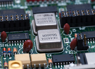 Electronic chip on PCB
