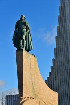 Leif Erikson Denkmal in Reykjavik | Island