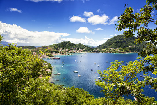 Bay of Terre-de-Haut, Les Saintes islands, Guadeloupe