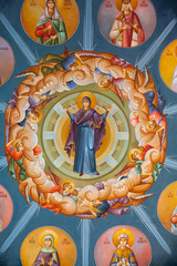 Byzantine frescoes