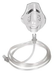 Close-up of an oxygen mask