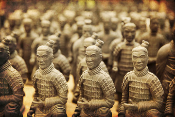 Printed kitchen splashbacks Xian Chinese terracotta army - Xian