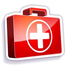 gommette-médical secours