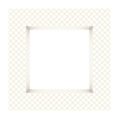 Abstract frame background bathroom tiles