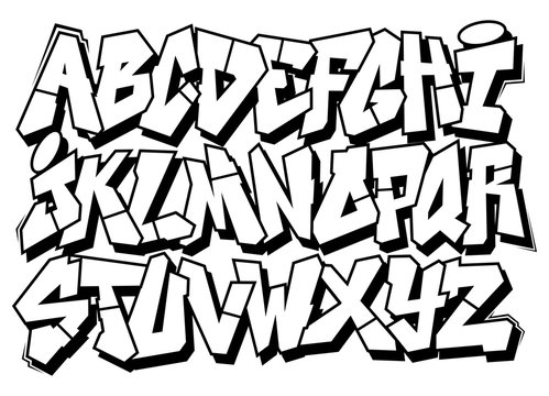 Graffiti Alphabet Stock Photos And Royalty Free Images Vectors And Illustrations Adobe Stock