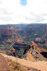 Waimea Canyon auf Kauai (Hawaii) / Der Grand Canyon des Pazifiks
