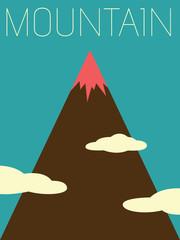 Vector Minimal Design - Mountain