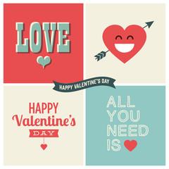 Valentines day vector design element