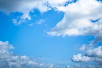 Wall Mural - blue sky