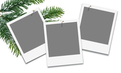 Weihnachten, Winteraktion, Platzhalter für eigene Bilder
