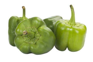 Close-up of capsicums