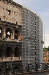 Colosseo restauro