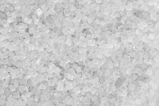 Close-up of crystal sugar