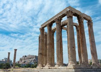 Temple of Zeus with Acropolis