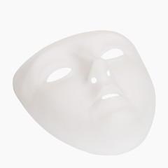 Close-up of a face mask