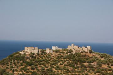 Grèce - Péloponnèse, Magne - la colline aux tours