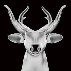 3D deer.