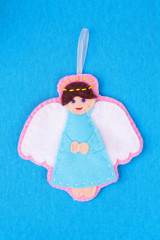felted angel