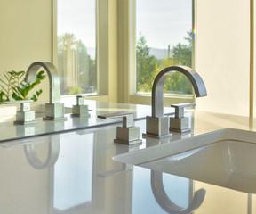 Sink in Beautiful Bathroom