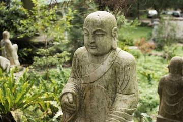 Ruined statue Ksitigarbha Bodhisattva