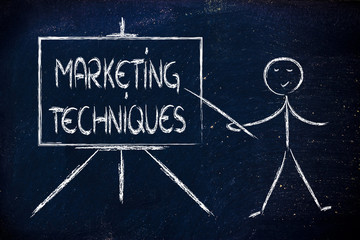 learn about marketing techniques