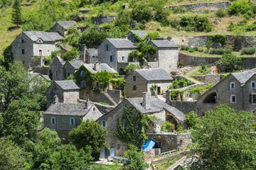 Gorges du Tarn, village