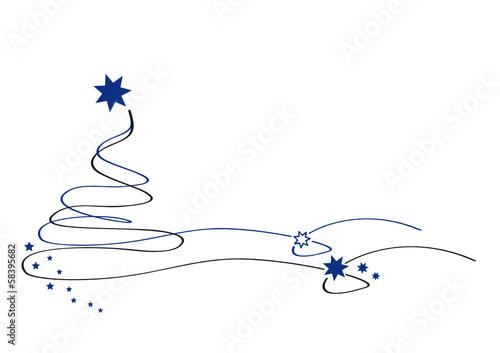 weihnachtsbaum blau filigran stockfotos und. Black Bedroom Furniture Sets. Home Design Ideas