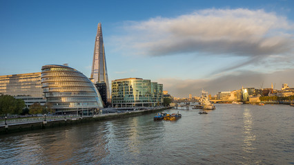 The South Bank of The Thames