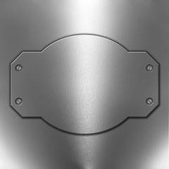 Chrome metal background