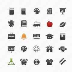education vector symbol icon