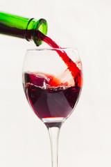 wineglass red wine