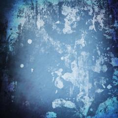 grunge blue paint