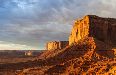 Fotoväggar - Monument Valley Sunrise