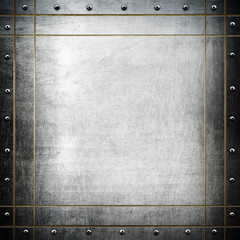 square metal plate